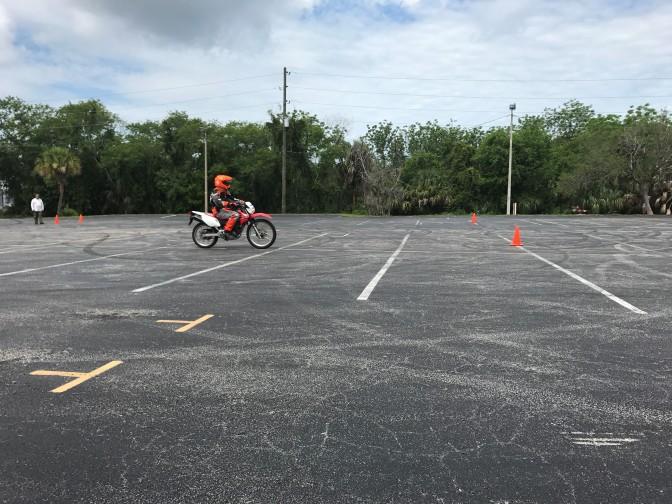 Chris at riding school 2