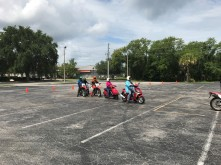 Chrois at riding school 4