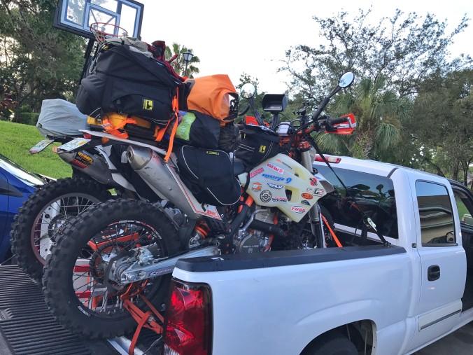 loaded bikes