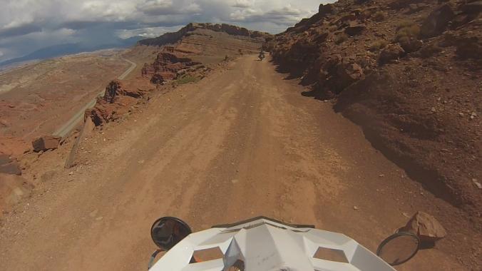 Moab trail