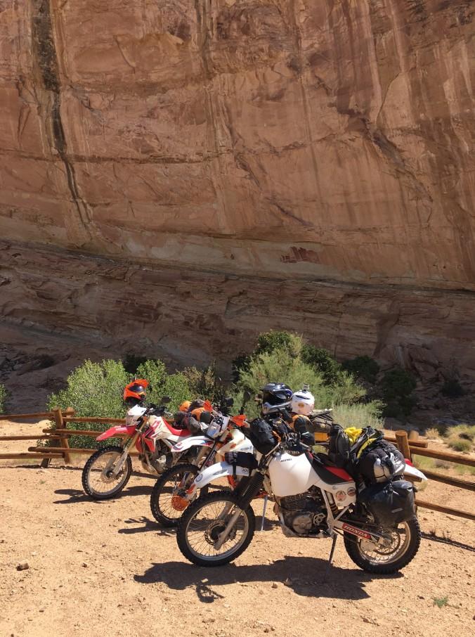 rocks and bikes